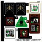 LEGO Sticker Sheet for Set 41185 (31921)