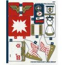 LEGO Sticker Sheet for Set 41235 (31813)