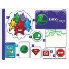 LEGO Sticker Sheet for Set 41238 (33988)