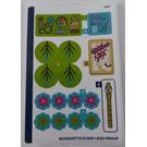LEGO Sticker Sheet for Set 41252