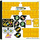 LEGO Sticker Sheet for Set 41258 (69648)