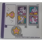 LEGO Sticker Sheet for Set 41300 (31551)