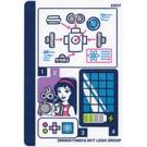LEGO Sticker Sheet for Set 41307 (29008)