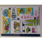 LEGO Sticker Sheet for Set 41315 (32908)