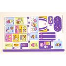 LEGO Sticker Sheet for Set 41320 (33378)