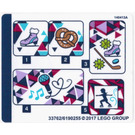LEGO Sticker Sheet for Set 41322 (33762)