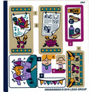 LEGO Sticker Sheet for Set 41334 (35936)