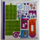 LEGO Sticker Sheet for Set 41335 (35937)