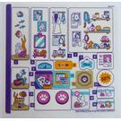 LEGO Sticker Sheet for Set 41345 (38015)