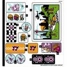 LEGO Sticker Sheet for Set 41349 (38019)
