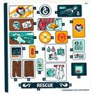 LEGO Sticker Sheet for Set 41380 - Sheet 1 (51926)