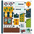 LEGO Sticker Sheet for Set 41381 (50448)