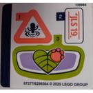LEGO Sticker Sheet for Set 41421