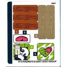 LEGO Autocollant Sheet for Set 41422 (67378)