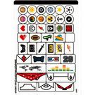 LEGO Sticker Sheet for Set 41597 (38806)