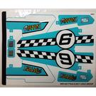 LEGO Sticker Sheet for Set 42059 (30814)