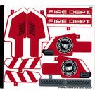 LEGO Sticker Sheet for Set 42075 (37609)