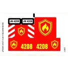 LEGO Sticker Sheet for Set 4208 (99226)