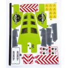 LEGO Sticker Sheet for Set 42080 (37747)