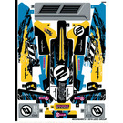 LEGO Sticker Sheet for Set 42095 (46338)
