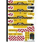 LEGO Sticker Sheet for Set 42097 (51284)