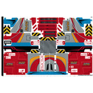 LEGO Sticker Sheet for Set 42098 (51319)
