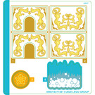 LEGO Sticker Sheet for Set 43184 (69661)