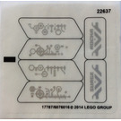 LEGO Sticker Sheet for Set 44028 (17787)