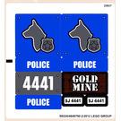 LEGO Sticker Sheet for Set 4441 (99224)