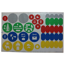 LEGO Sticker Sheet for Set 45100 (13101)