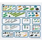 LEGO Sticker Sheet for Set 45300