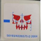 LEGO Sticker Sheet for Set 4748 (50193)