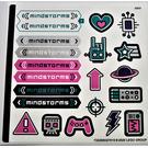 LEGO Sticker Sheet for Set 51515 (73229)