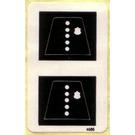 LEGO Sticker Sheet for Set 540-2 / 644-2 / 709-1