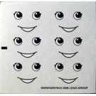 LEGO Sticker Sheet for Set 5475 (56594)