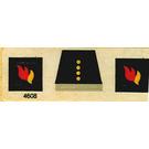 LEGO Sticker Sheet for Set 556 / 620-1 / 640-2 / 672