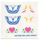 LEGO Sticker Sheet for Set 5870 (168795)