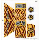 LEGO Sticker Sheet for Set 5886 (74417)
