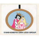 LEGO Sticker Sheet for Set 5963 (51649)