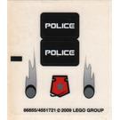 LEGO Sticker Sheet for Set 5969 (86855)