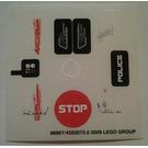 LEGO Sticker Sheet for Set 5970 (86867)