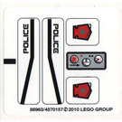 LEGO Sticker Sheet for Set 5981 (88963)