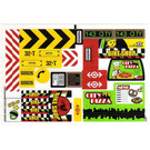 LEGO Sticker Sheet for Set 60026 (13624)