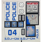 LEGO Sticker Sheet for Set 60044 (14799)