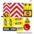 LEGO Sticker Sheet for Set 60076 (19485)