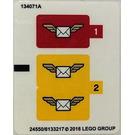 LEGO Sticker Sheet for Set 60100 (24545 / 24550)