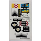 LEGO Sticker Sheet for Set 60102 (24547 / 24552)