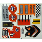LEGO Sticker Sheet for Set 60103 (24548 / 24553)
