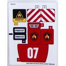 LEGO Sticker Sheet for Set 60107 (24509 / 24515)
