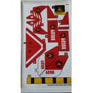 LEGO Sticker Sheet for Set 60108 (24510 / 24516)